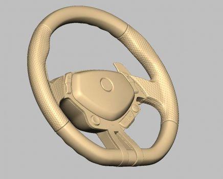 3D_Print_Steering01